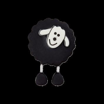 Schäfchenknopf, Schwarz
