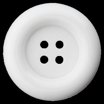 Kasperlknopf - Weiß
