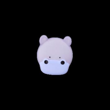 Kinderknopf `Nilpferd`