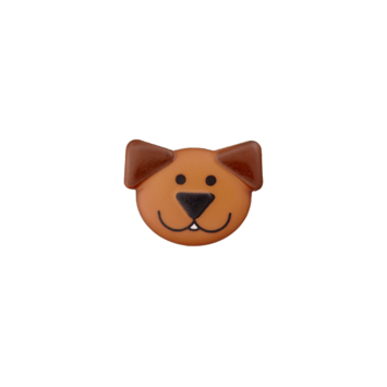 Kinderknopf `Hund`
