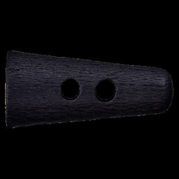 Holzknebel `Montero`, 40mm, schwarz