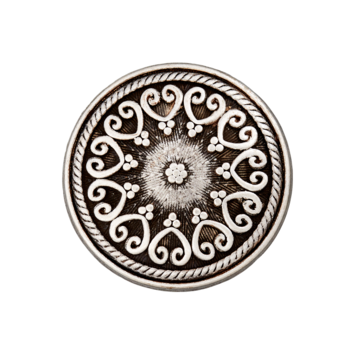 Trachtenknopf `Mittersill, 15mm`