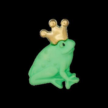 Kinderknopf `Froschkönig`, 23mm