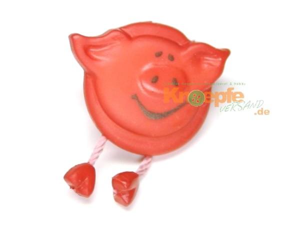 Schweinchenknopf, Rot