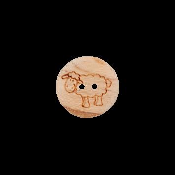 Kinderknopf `Schaf`