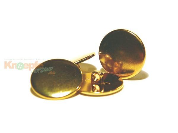 Metallknopf `Gstaad`-15mm