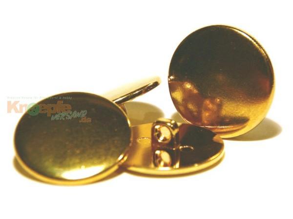 Metallknopf `Gstaad`-23mm