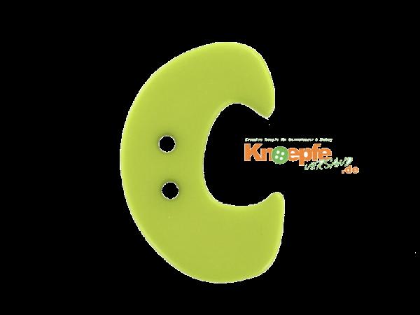 Buchstabenknopf C - grün