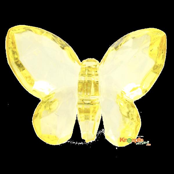 Zierteil `Schmetterling`- Gelb