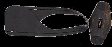 Dufflecoatverschluß `Hunderdorf`- schwarz