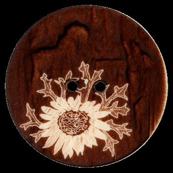 Trachtenknopf `Inzell`, 34mm
