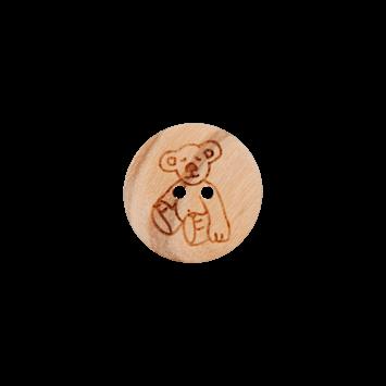 Kinderknopf `Teddy`