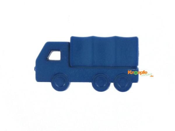 Kinderknopf - Planen LKW, Blau