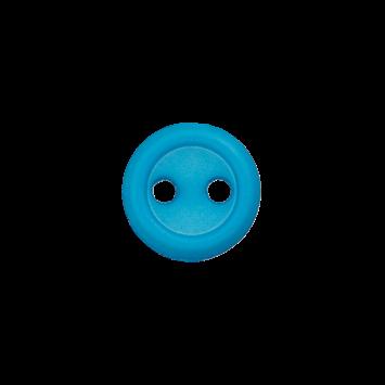 Puppenknopf `türkis`