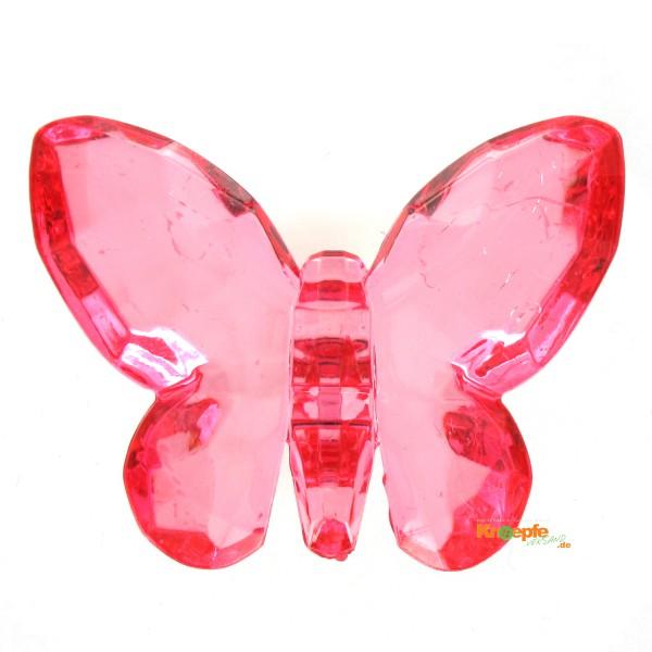 Zierteil `Schmetterling`- Rot