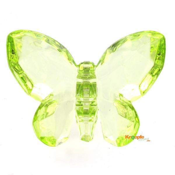 Zierteil `Schmetterling`- Hellgrün