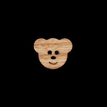Holzknopf `Bärchen`