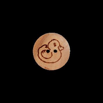 Kinderknopf `Ente`