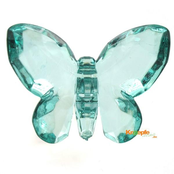 Zierteil `Schmetterling`- Grün-Türkis
