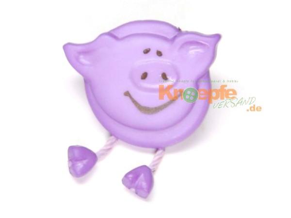 Schweinchenknopf, Flieder