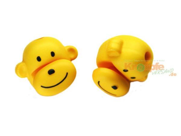 Kordelstopper - Affenkopf - Gelb