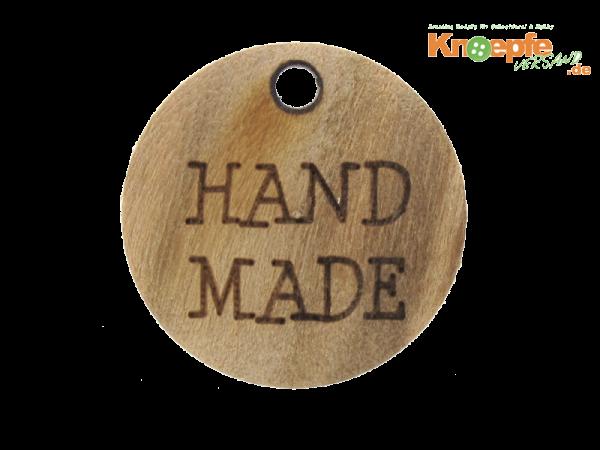 Holzzierteil `Hand made`