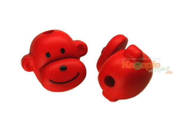 Kordelstopper - Affenkopf - Rot