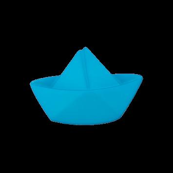 Kinderknopf - Faltboot, Türkis