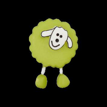 Schäfchenknopf, Hellgrün