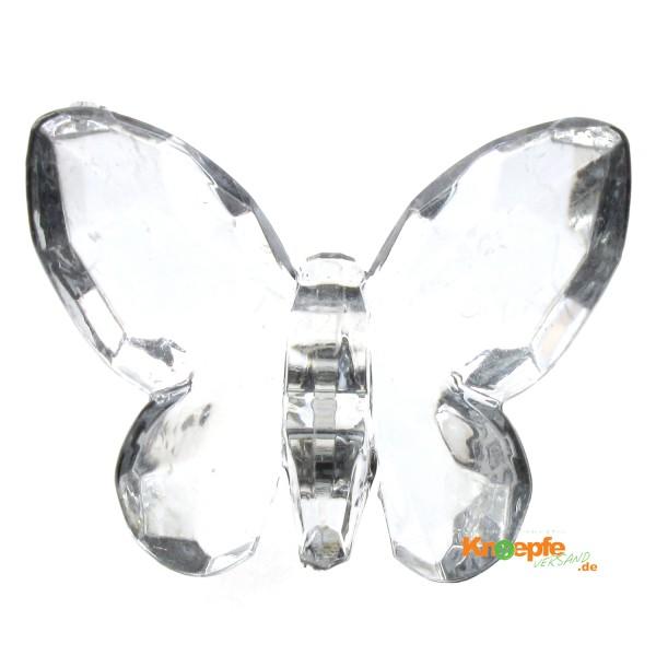 Zierteil `Schmetterling`- Kristall