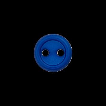Puppenknopf `dunkelblau`