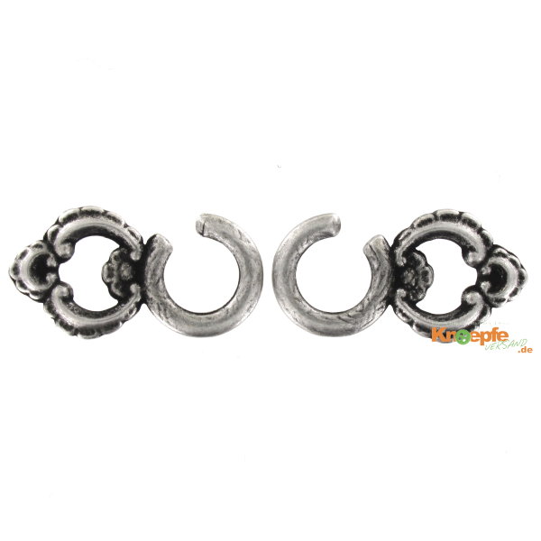 Miederhaken ´Altach`, 28mm, ein Paar -