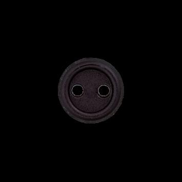 Puppenknopf `schwarz`