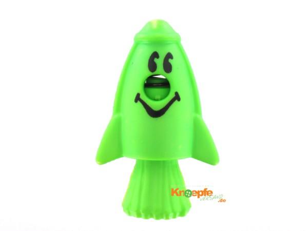 Kordelstopper - Rakete - Grün