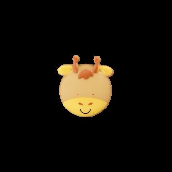 Kinderknopf `Giraffe`