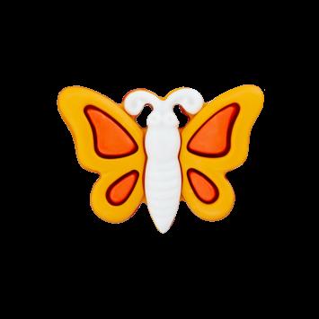 Schmetterlingsknopf, Orange