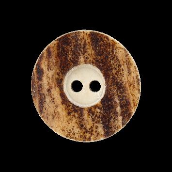 Hirschhornknopf `Kufstein`, 16mm