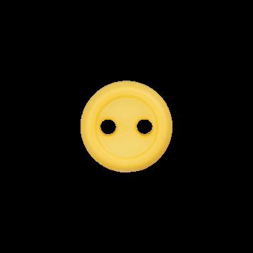 Puppenknopf `gelb`